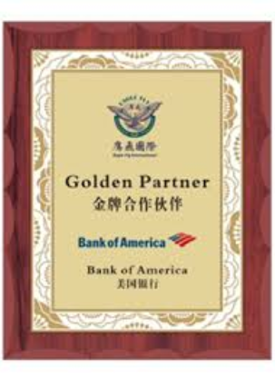 美國銀行金牌合作伙伴