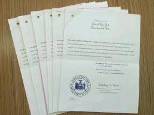 美国结婚证、离婚证公证认证指南