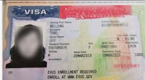 美國商務簽證不能出具邀請函改申請旅游簽證